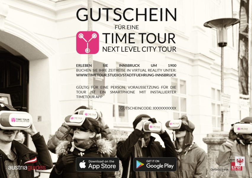 Gutschein TimeTour City Tour Innsbruck